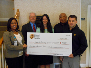 WRC Receives Grant from The UPS Foundation